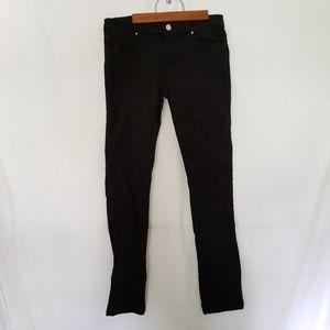 ZARA Basic Black Skinny Stretch Jean 8